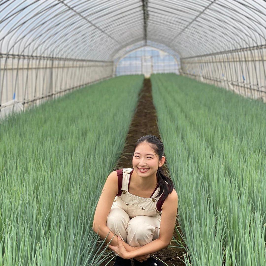 農業女子 ハウス