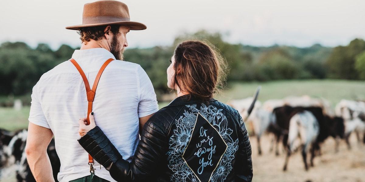 恋活した農家と女