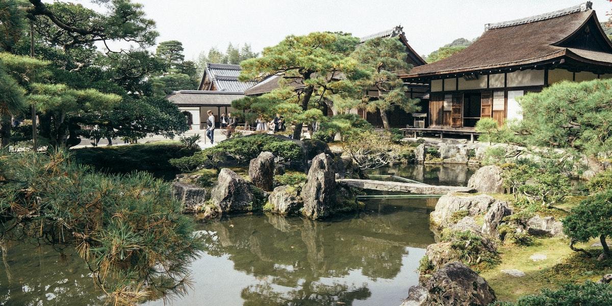 日本農家の豪邸