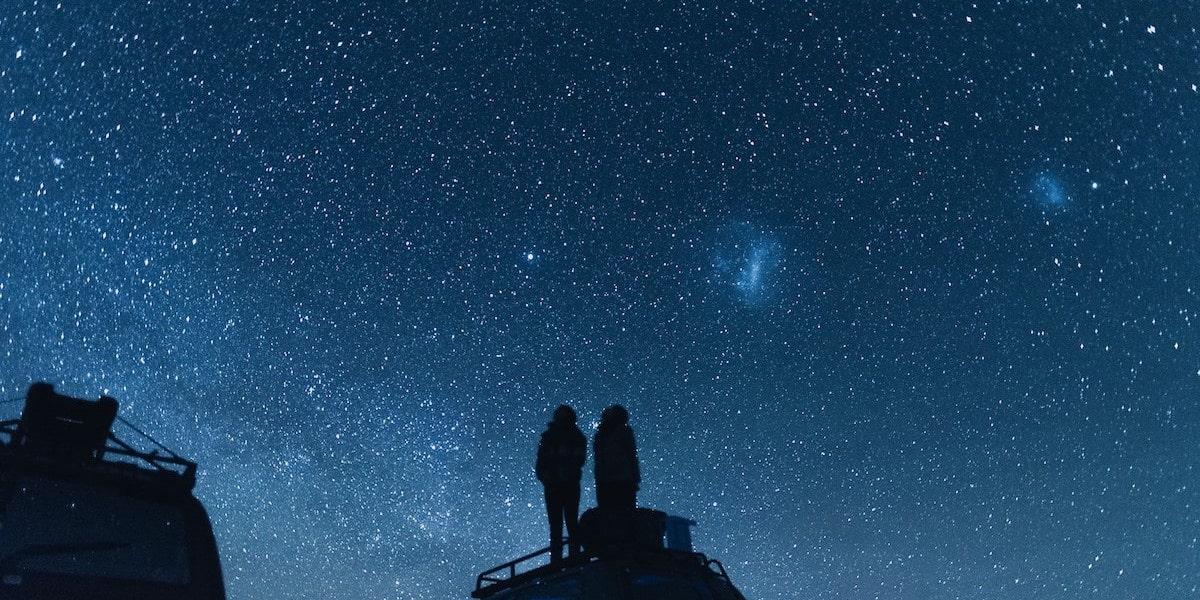 田舎の夜景デート