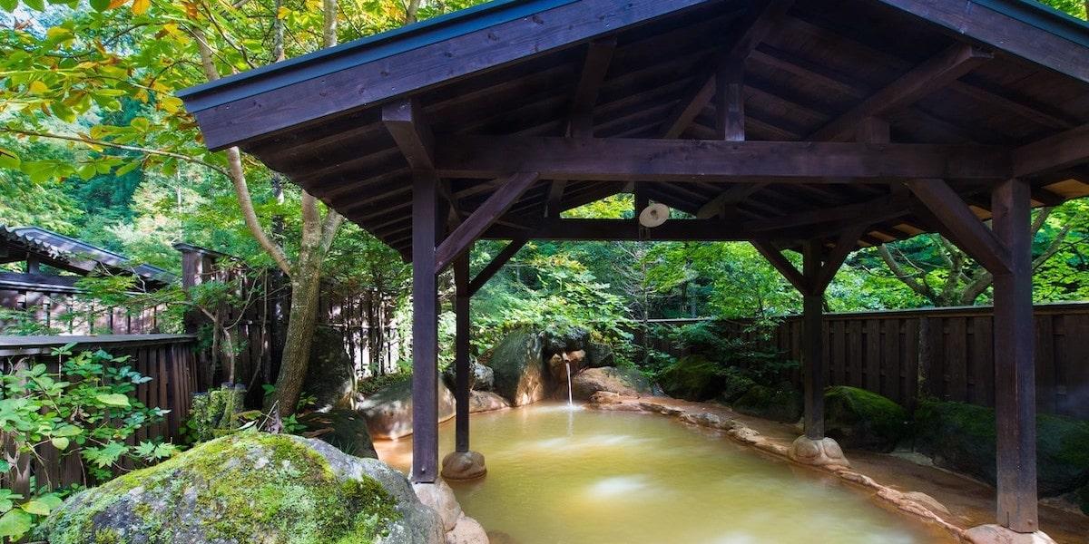 田舎の温泉デート