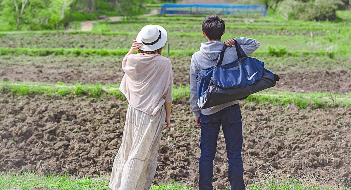 農家と結婚して田舎に移住