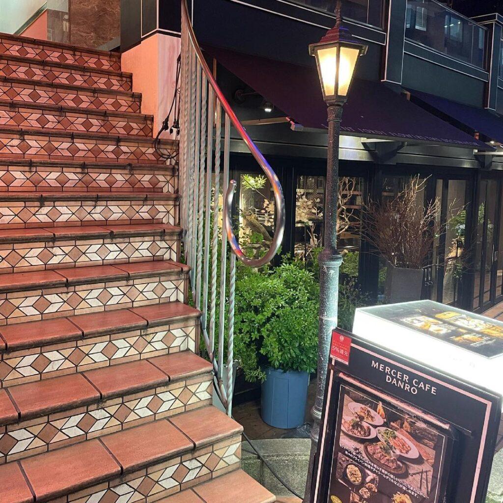 Mercer Cafe DANRO 東京 初デート レストラン