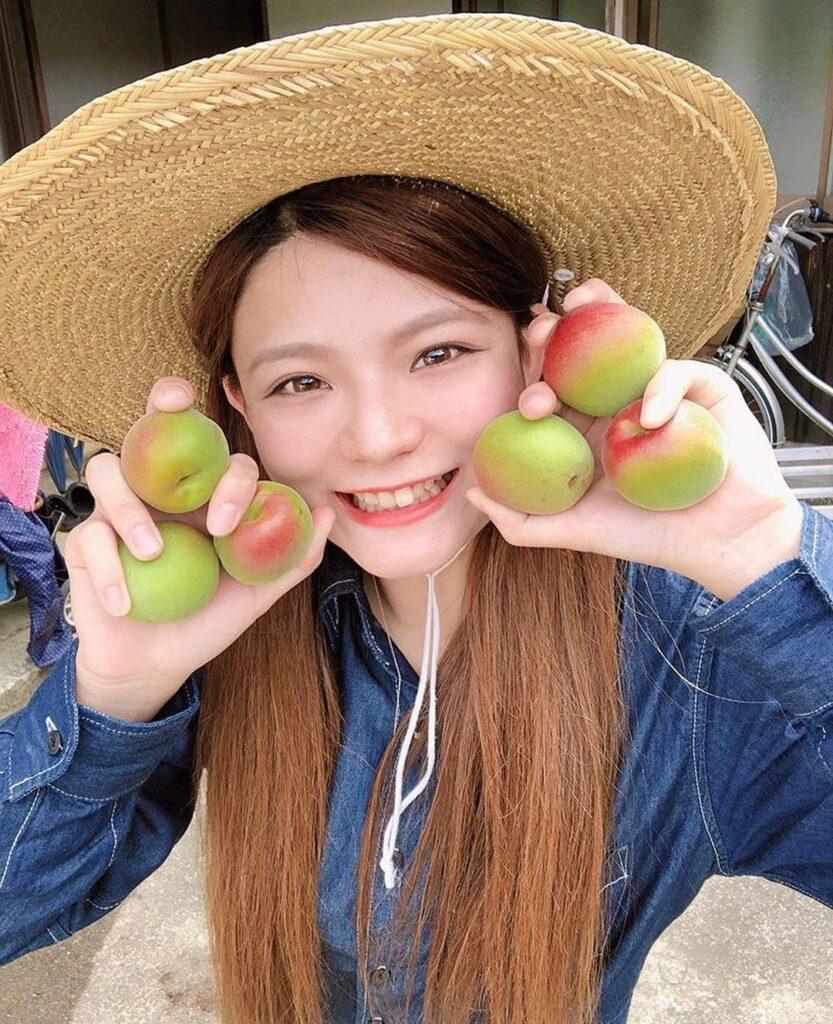 農業女子 美人